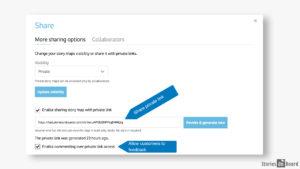 generate private link