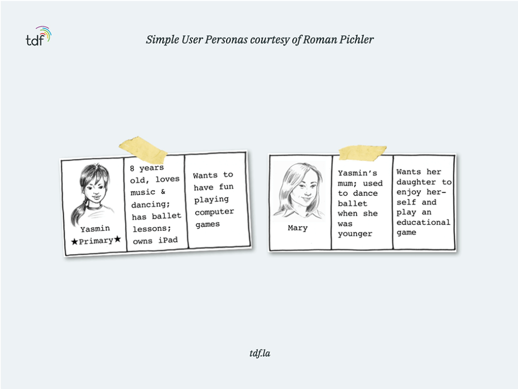 role of user personas in product releases