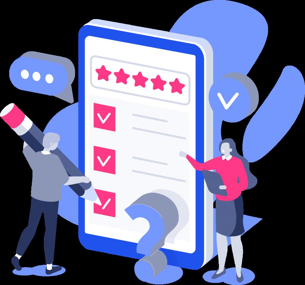 in-app survey user feedback